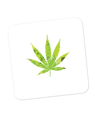 Cannabis Marijuana Weed Inspired Coaster Online India