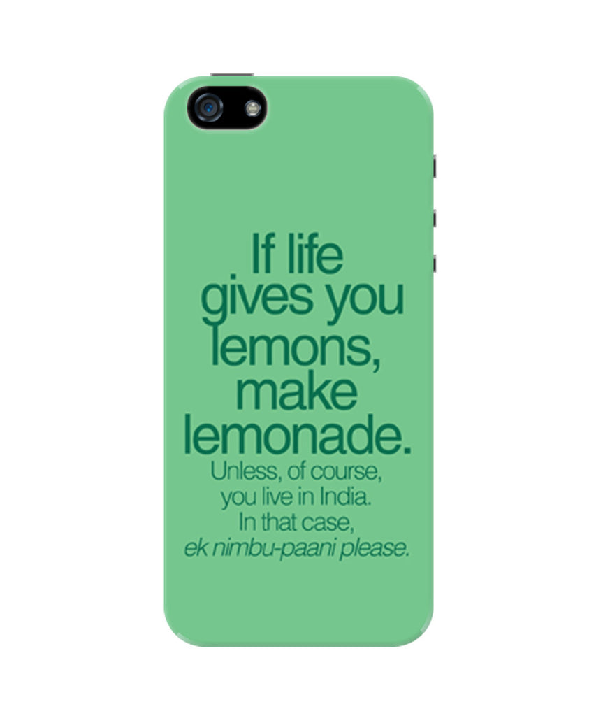 Iphone 55s Covers When Life Gives You Lemons Funny Quote Iphone 5