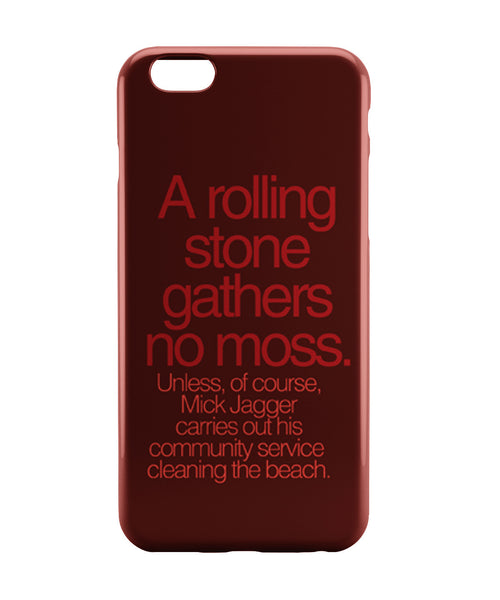 iPhone 6 Case & iPhone 6S Case | Rolling Stones Mick Jagger iPhone 6 | iPhone 6S Case Online India | PosterGuy