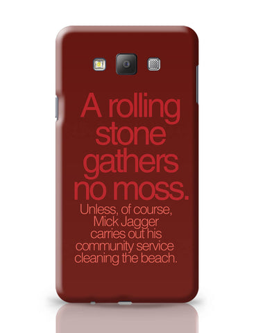 Samsung Galaxy A7 Covers | Rolling Stones Mick Jagger Samsung Galaxy A7 Covers Online India