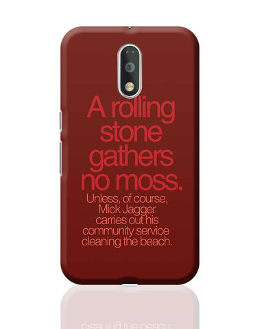 Rolling Stones Mick Jagger Moto G4 Plus Online India