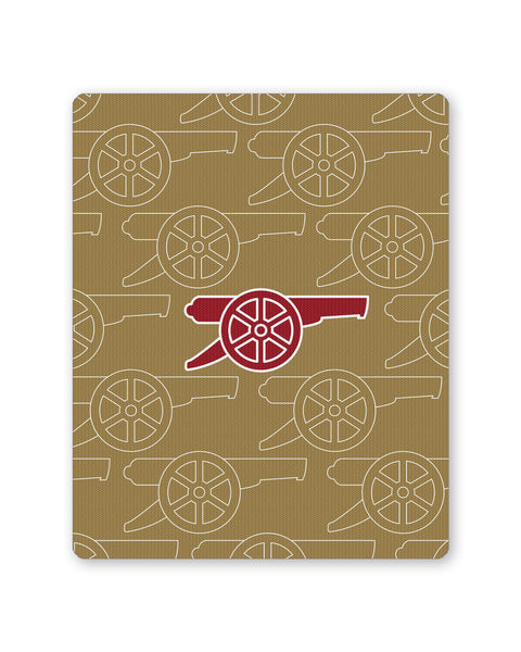 Mouse Pads | Minimal Arsenal Football Mouse Pad Online India | PosterGuy.in