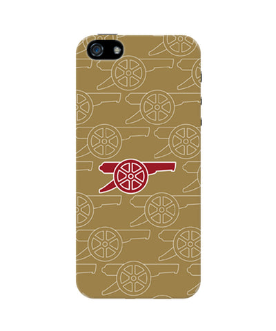 Minimal Arsenal Logo iPhone 5 / 5S Case