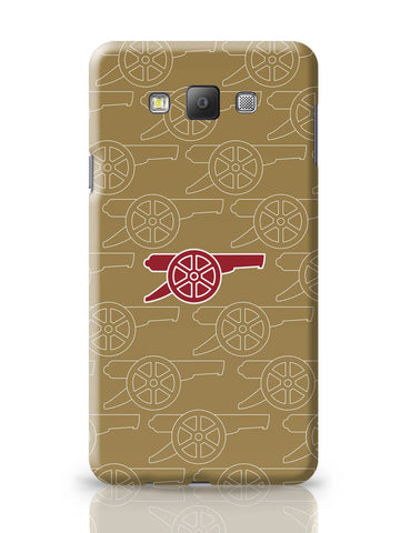 Samsung Galaxy A7 Covers | Minimal Arsenal Logo Samsung Galaxy A7 Covers Online India