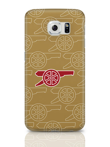 Samsung Galaxy S6 Covers & Cases | Minimal Arsenal Logo Samsung Galaxy S6 Covers & Cases Online India