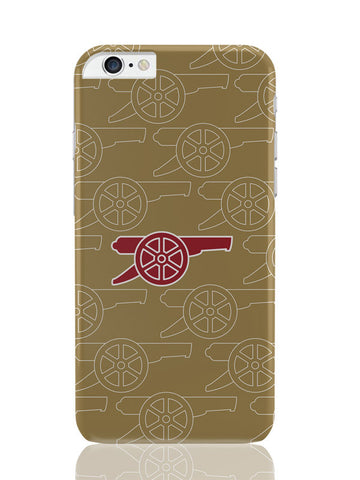 iPhone 6 Plus / 6S Plus Covers & Cases | Minimal Arsenal Logo iPhone 6 Plus / 6S Plus Covers and Cases Online India