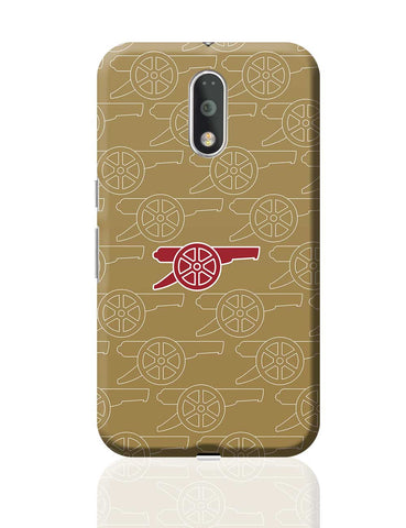 Minimal Arsenal Logo Moto G4 Plus Online India