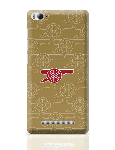 Xiaomi Mi 4i Covers | Minimal Arsenal Logo Xiaomi Mi 4i Cover Online India