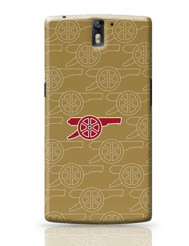 OnePlus One Covers | Minimal Arsenal Logo OnePlus One Cover Online India
