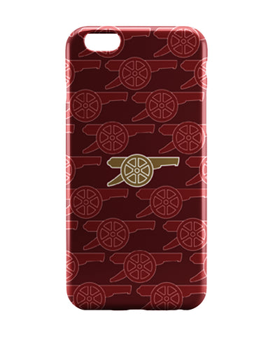 iPhone 6 Case & iPhone 6S Case | Arsenal Minimalist Red Football iPhone 6 | iPhone 6S Case Online India | PosterGuy