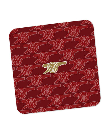 Arsenal Minimalist Logo Red Coaster Online India