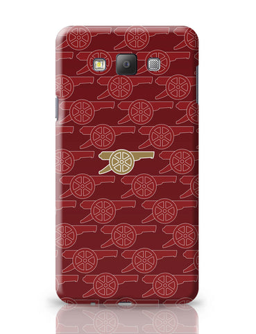 Samsung Galaxy A7 Covers | Arsenal Minimalist Logo Red Samsung Galaxy A7 Covers Online India