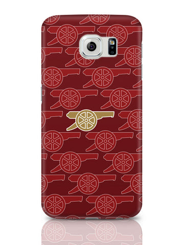 Samsung Galaxy S6 Covers & Cases | Arsenal Minimalist Logo Red Samsung Galaxy S6 Covers & Cases Online India