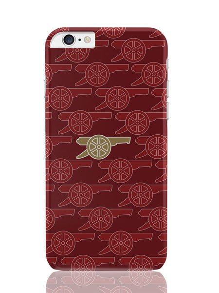 iPhone 6 Plus / 6S Plus Covers & Cases | Arsenal Minimalist Logo Red iPhone 6 Plus / 6S Plus Covers and Cases Online India