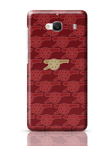Xiaomi Redmi 2 / Redmi 2 Prime Cover| Arsenal Minimalist Logo Red Redmi 2 / Redmi 2 Prime Cover Online India