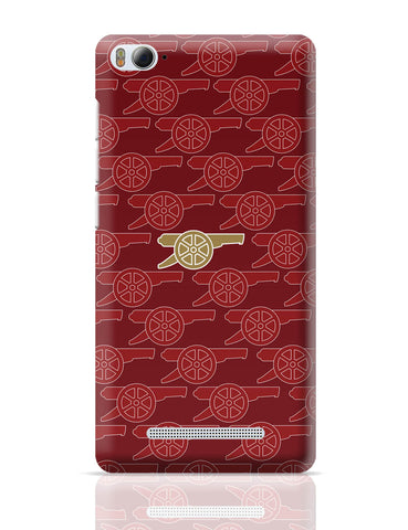 Xiaomi Mi 4i Covers | Arsenal Minimalist Logo Red Xiaomi Mi 4i Cover Online India