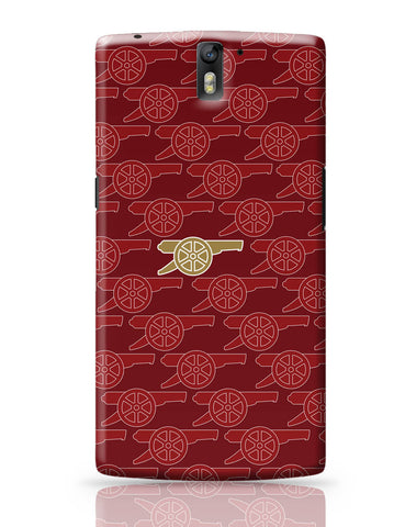 OnePlus One Covers | Arsenal Minimalist Logo Red OnePlus One Cover Online India