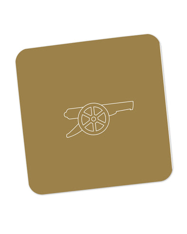 Minimalist Arsenal Logo Coaster Online India