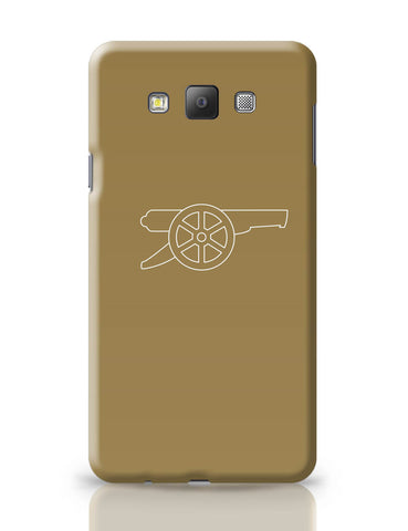 Samsung Galaxy A7 Covers | Minimalist Arsenal Logo Samsung Galaxy A7 Covers Online India
