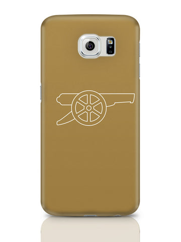 Samsung Galaxy S6 Covers & Cases | Minimalist Arsenal Logo Samsung Galaxy S6 Covers & Cases Online India