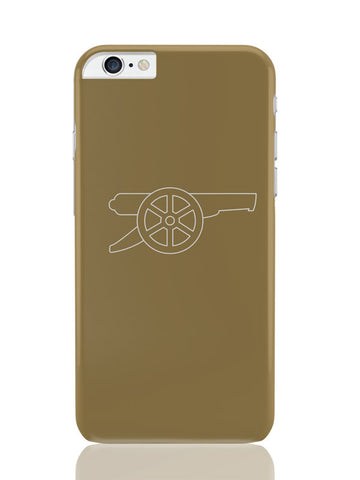 iPhone 6 Plus / 6S Plus Covers & Cases | Minimalist Arsenal Logo iPhone 6 Plus / 6S Plus Covers and Cases Online India