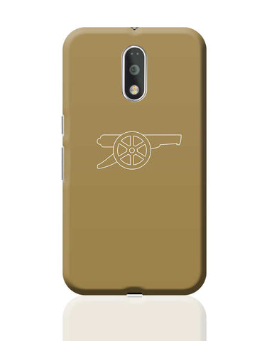 Minimalist Arsenal Logo Moto G4 Plus Online India
