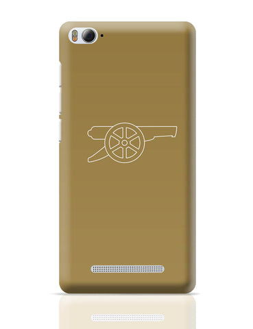 Xiaomi Mi 4i Covers | Minimalist Arsenal Logo Xiaomi Mi 4i Cover Online India