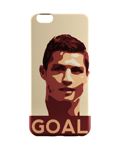 iPhone 6 Case & iPhone 6S Case | Cristiano Ronaldo Goal Football iPhone 6 | iPhone 6S Case Online India | PosterGuy