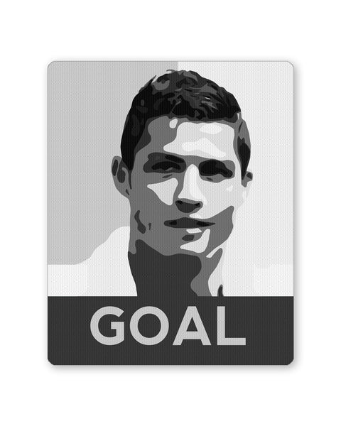 Mouse Pads | Cristiano Ronaldo Goal Real Madrid Football Mouse Pad Online India | PosterGuy.in