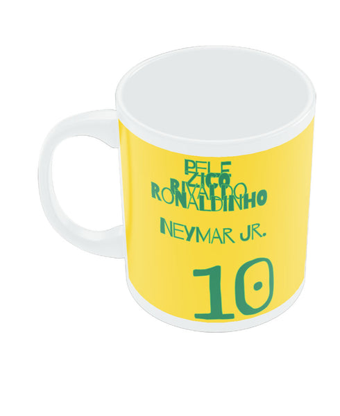Neymar Jr Brazil Coffee Mug Online India