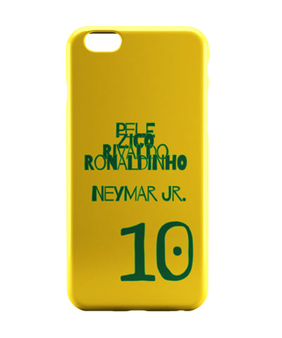 iPhone 6 Case & iPhone 6S Case | Neymar Jr Brazil Football iPhone 6 | iPhone 6S Case Online India | PosterGuy