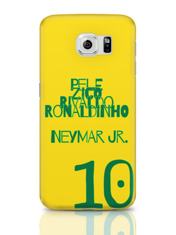 Samsung Galaxy S6 Covers & Cases | Neymar Jr Brazil Samsung Galaxy S6 Covers & Cases Online India