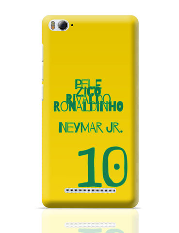 Xiaomi Mi 4i Covers | Neymar Jr Brazil Xiaomi Mi 4i Cover Online India