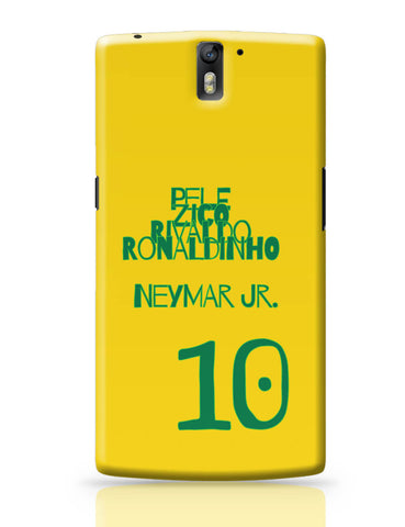 OnePlus One Covers | Neymar Jr Brazil OnePlus One Cover Online India