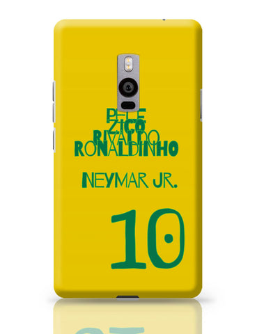 OnePlus Two Covers | Neymar Jr Brazil OnePlus Two Cover Online India