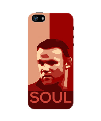 Wayne Rooney Manchester United Soul iPhone 5 / 5S Case