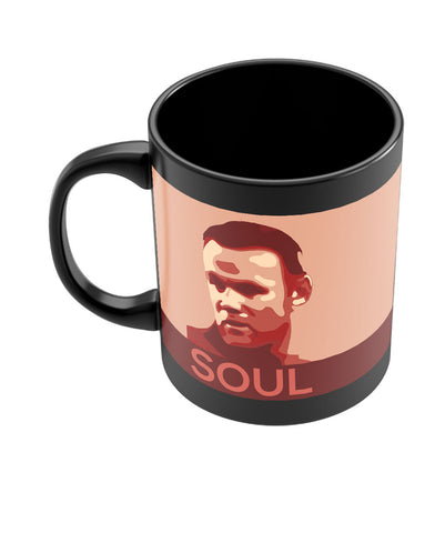 Wayne Rooney Manchester United Soul Black Coffee Mug Online India