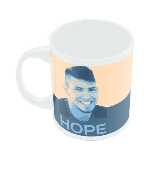 Sergio Aguero Manchester City Hope Coffee Mug Online India