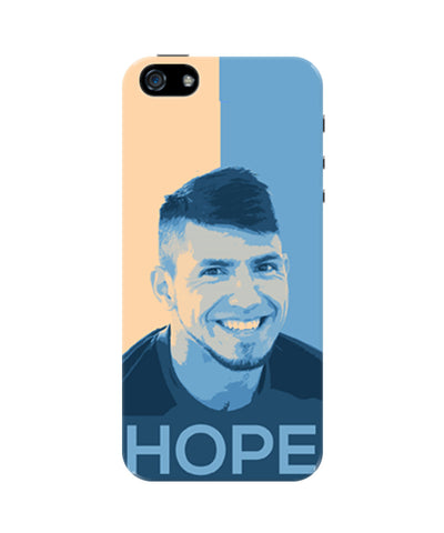 Sergio Aguero Manchester City Hope iPhone 5 / 5S Case