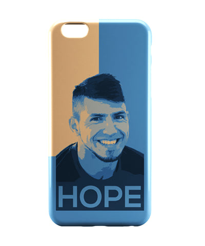 iPhone 6 Case & iPhone 6S Case | Sergio Aguero Manchester City Hope Football iPhone 6 | iPhone 6S Case Online India | PosterGuy