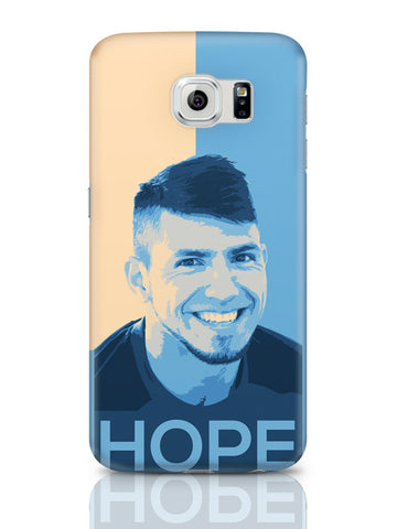 Samsung Galaxy S6 Covers & Cases | Sergio Aguero Manchester City Hope Samsung Galaxy S6 Covers & Cases Online India