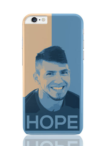 iPhone 6 Plus / 6S Plus Covers & Cases | Sergio Aguero Manchester City Hope iPhone 6 Plus / 6S Plus Covers and Cases Online India
