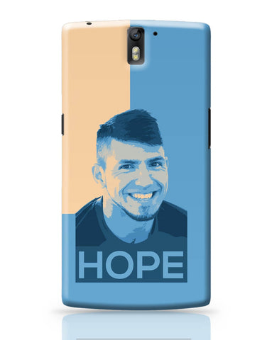 OnePlus One Covers | Sergio Aguero Manchester City Hope OnePlus One Cover Online India