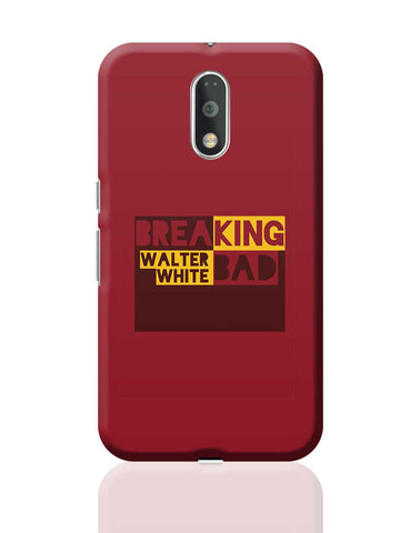 Walter White Breaking Bad Typography Moto G4 Plus Online India