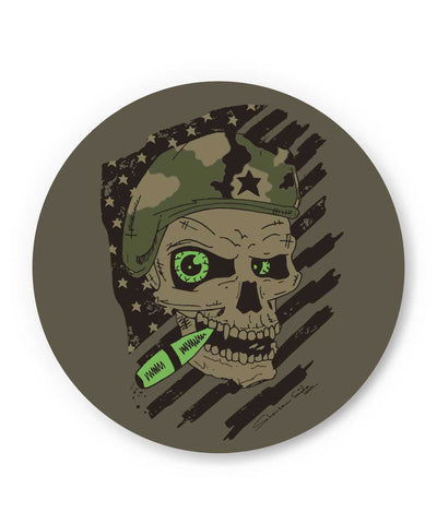 Militant Skull Fridge Magnet Online India