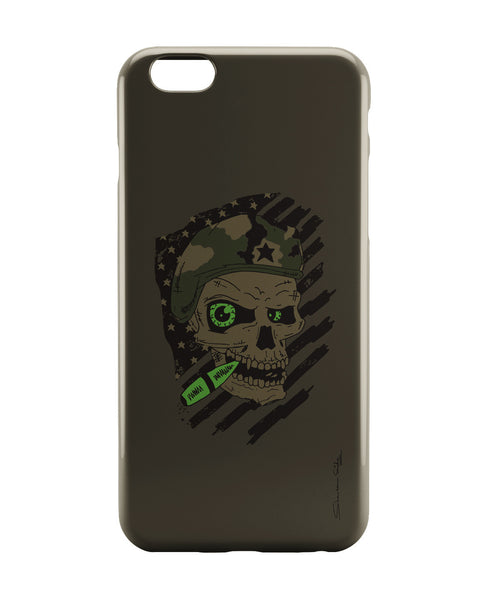 iPhone 6 Case & iPhone 6S Case | Militant Skull iPhone 6 | iPhone 6S Case Online India | PosterGuy