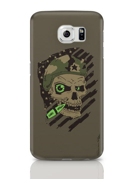 Samsung Galaxy S6 Covers & Cases | Militant Skull Samsung Galaxy S6 Covers & Cases Online India