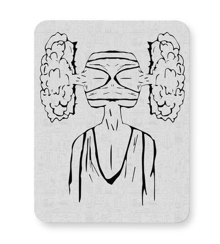 Buy Mousepads Online India | Cloud Of Thoughts Mouse Pad Online India