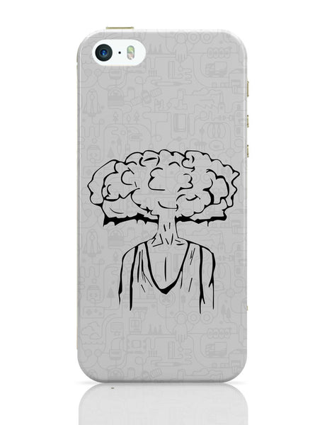 iPhone 5 / 5S Cases & Covers | Cloud Of Thoughts iPhone 5 / 5S Case Online India