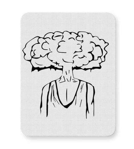 Buy Mousepads Online India | Mind Blown Illustration Mouse Pad Online India